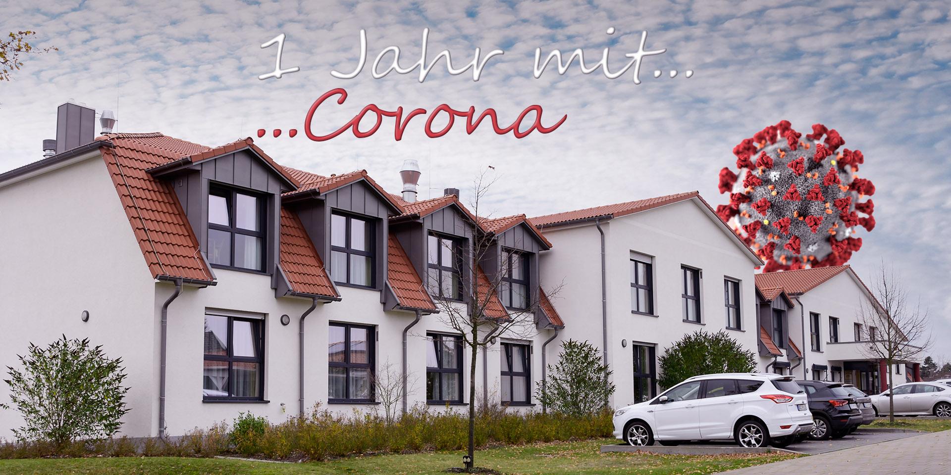 Ein Jahr Corona
